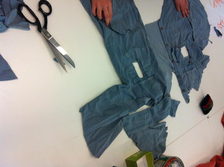 Deconstrucció tèxtil La bonne Fiona Capdevila